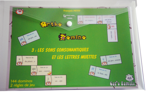 Ortho Domino 3 - Les sons consonantiques
