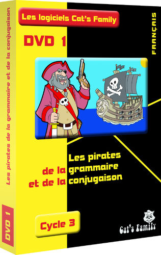 Software 1: Pirates of grammar and conjugation - Cycle 3