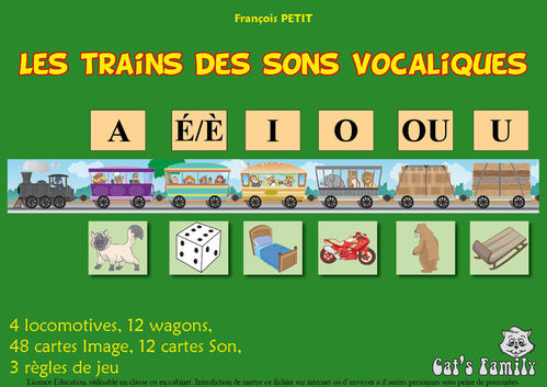 Download game - Trains of simple vocalic sounds
